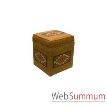 Boite cube 2 killim 45x45cm Kingsbridge -SM2001-13-54
