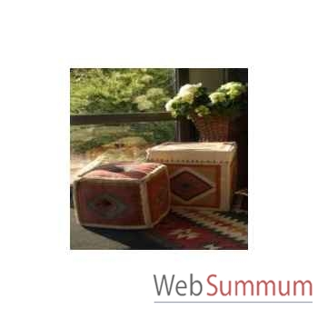 Boite cube 4 killim 45x45cm Kingsbridge -SM2001-15-54