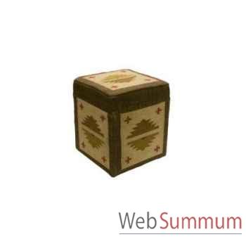 Boite cube 6 killim 45x45cm Kingsbridge -SM2001-17-54