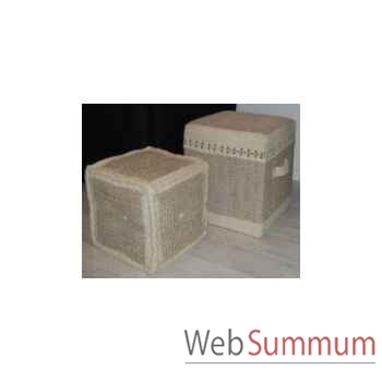 Boite cube 7 killim 45x45cm Kingsbridge -SM2004-65-54