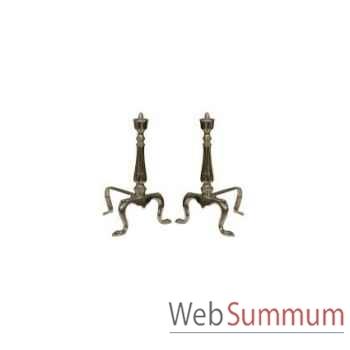 Acessoires cheminée bellamy set 4 36x15xh.72cm Kingsbridge -AC2004-84-38
