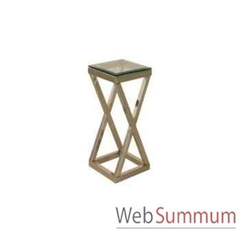 Table d'appoint crosswise 55x48xh.57cm Kingsbridge -TA2000-35-51