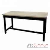 table a dinner mandalay black rustic oak 180x90xh78 cm kingsbridge ta2003 95 12