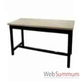 table a dinner mandalay black rustic oak 200x90xh78 cm kingsbridge ta2000 36 12