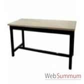 table a dinner mandalay black rustic oak 200x90xh78 cm kingsbridge ta2000 36 12