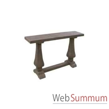 Table d'appoint chicago 130x45xh.85cm Kingsbridge -TA2004-15-75