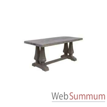 Table à dinner da vinci 200x110xh.78cm Kingsbridge -TA2004-28-75