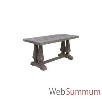 Table à dinner da vinci 220x110xh.78cm Kingsbridge -TA2004-75-75