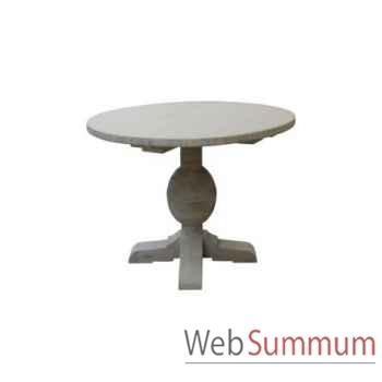 Table à dinner naples round Ø120xh.78cm Kingsbridge -TA2004-31-75