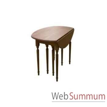 Table à dinner magnum 64x135xh.76 cm > 350x135xh.76cm Kingsbridge -TA2005-35-81
