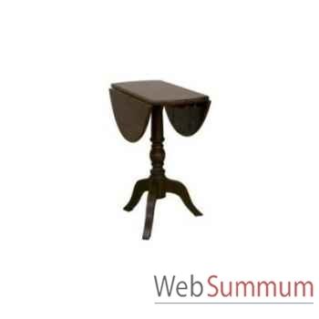 Drop leaf table Ø 90 90xh.70cm Kingsbridge -TA2002-04-12
