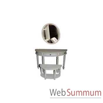 Table d'appoint ava 70x45xh.60cm Kingsbridge -TA2005-50-15