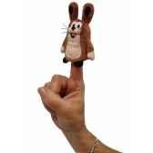 8cm lapin marionnette a doigt mubrno 29917z