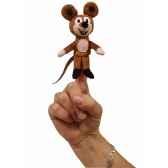 8cm mouse marionnette a doigt mubrno 29918z
