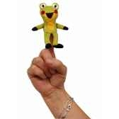 8cm grenouille marionnette a doigt mubrno 29919z