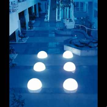 Lampe demi-lune granite à visser Moonlight -hmagslgf3500202
