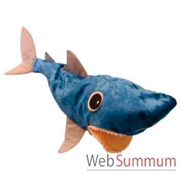 Marionnette à main Anima Scéna - Le requin CLAP - environ 30 cm - 32106a