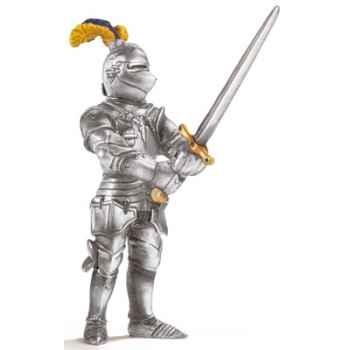 schleich-70001-Figurine Chevalier avec grande épée, échelle environ 1:20