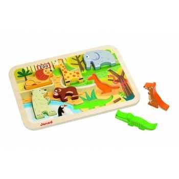 Chunky puzzle zoo Janod J07022