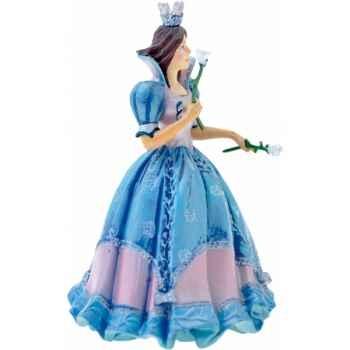 Figurine la princesse aux roses robe bleue -61363