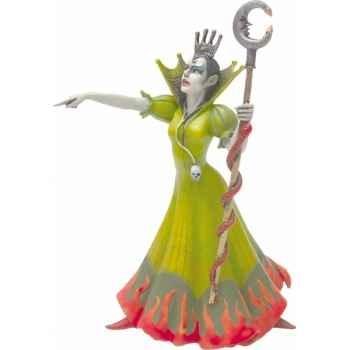 Figurine la sorcière robe verte-61364
