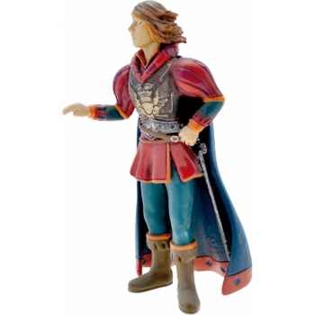 Figurine le prince charmant habit rouge-61366