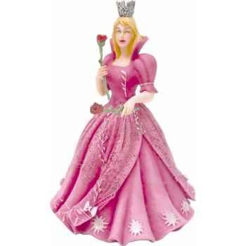 Collection il etait une fois figurine la princesse aux roses robe rose figurines sans chevalet Figurine Plastoy 61362