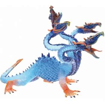 Collection les dragons figurine l'hydre translucide bleue Figurine Plastoy 60227