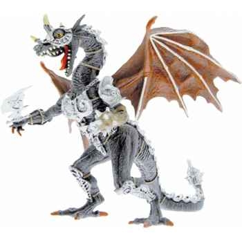 Collection les dragons figurine le dragon en armure Figurine Plastoy 60243