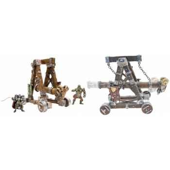 Les chateaux forts, machines et bÊtes de guerre le bélier Figurine Plastoy 59009