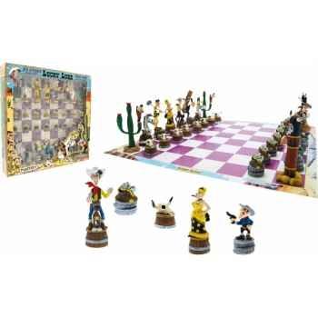 Les jeux d\'echecs jeu d\' echecs lucky luke Figurine Plastoy 69001