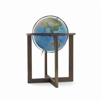 Globe lumineux cross blue double cartographie 50 cm (diamètre) Sicjeg
