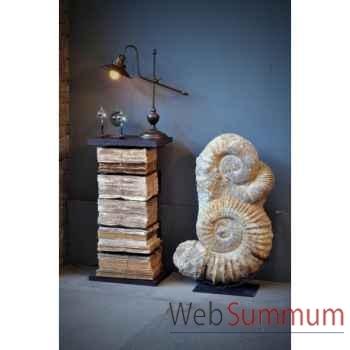 Bibliothèque verticale chevet + livres Objet de Curiosité -FE031LIV