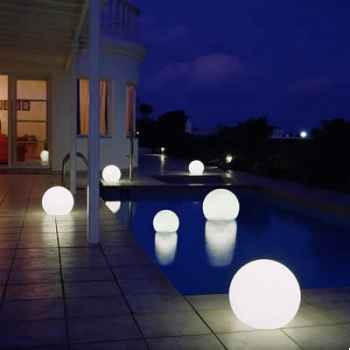 Lampe demi-lune granite sur batterie Moonlight -bhmflslgf7501502