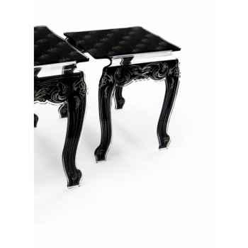 Table de salle à manger capiton (petite) acrila -tsamcp