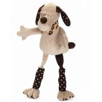 Les Petites Marie - Peluche collection ferme,  Lucien le chien