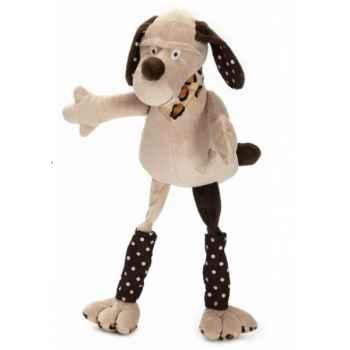 Les Petites Marie - Peluche collection ferme,  Bastien le chien