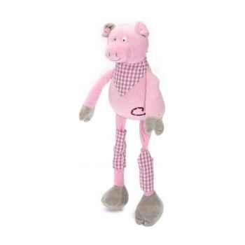 Les Petites Marie - Peluche collection ferme,  Gedeon le cochon