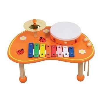 Table musicale coccinelle pour enfant - 0405