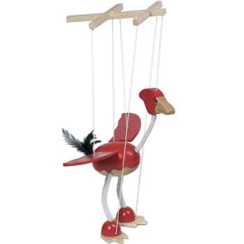 Marionnette Oiseau à fil en bois Goki -51937
