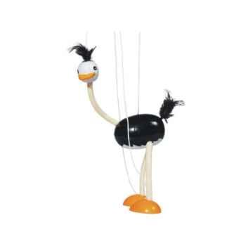 Marionnette autruche à fil en bois Goki -SO104