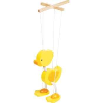 Marionnette Canard à fil en bois Goki -51969