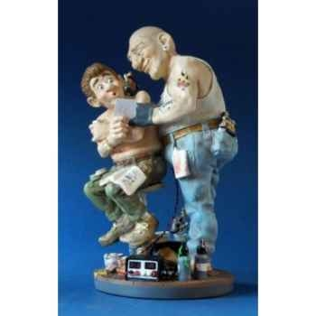 Figurine métier Profisti Tatoueur PRO15