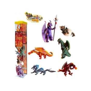 Collection les tubos tubo dragons 6 Figurine Plastoy 70366