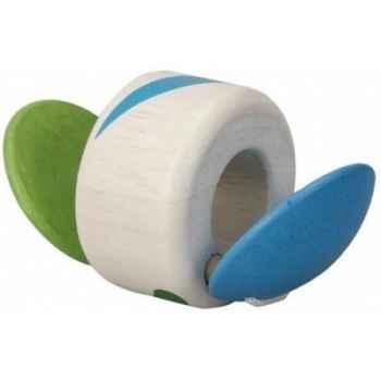 Roule-tap-tap jouet en bois plantoys 5228