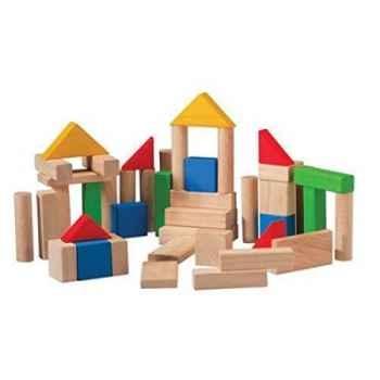 Jeu de construction 48 pièces jouet en bois plantoys 5535