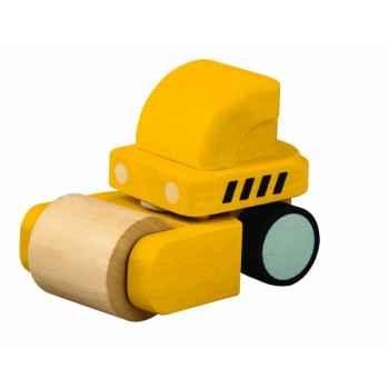 Rouleau compresseur 18 cm jouet en bois plantoys 6318