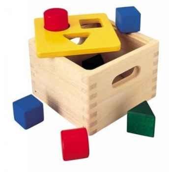 Boite à formes jouet en bois plantoys 9430