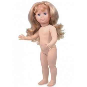Poupée Marie-françoise 40cm nue cheveux longs blonds Petitcollin 964120