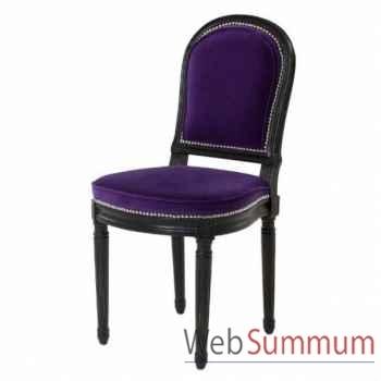 Eichholtz chaise princess victoria violet -chr06404